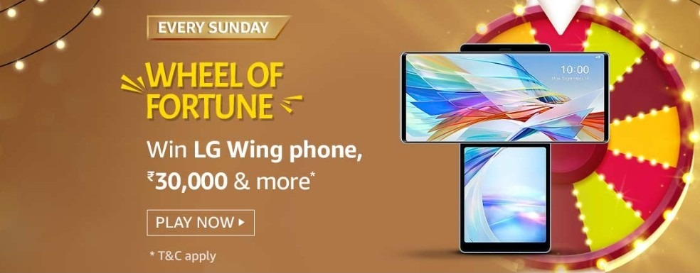 Amazon Wheel of Fortune 3 January 2021 Sunday Answers