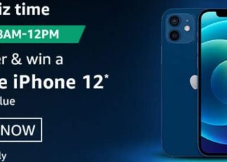 Amazon Quiz Answers 17 January 2021 Win Apple iPhone 12