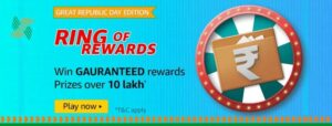 Amazon Pay Ring of Rewards Great Republic Day Edition