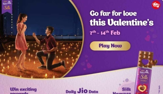 My Jio Quiz Answers Valentines Week