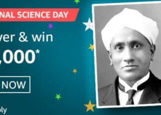 Amazon National Science Day Quiz Answers Win Rs. 20,000 Pay Balance (5 Winners)