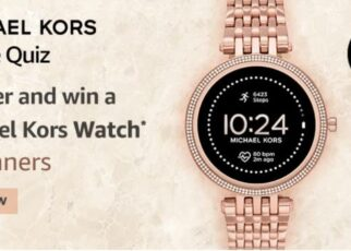 Amazon Michael Kors Gen5e Quiz Answers Win Michael Kors Watch (4 Winners)