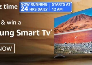Amazon Quiz Answers 28 February 2021 Win Samsung Smart TV