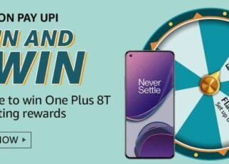 Amazon Spin and Win Amazon Pay UPI