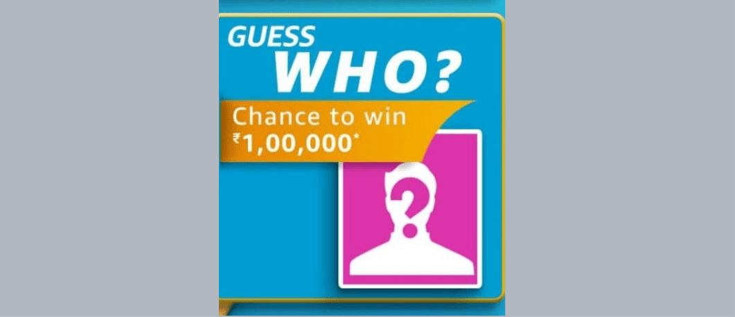 Amazon Guess Who Quiz Answers Carnival - Pictionary Win Rs. 1,00,000 Pay Balance