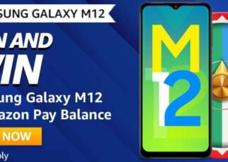 Amazon Spin and Win Samsung Galaxy M12 Quiz Answer