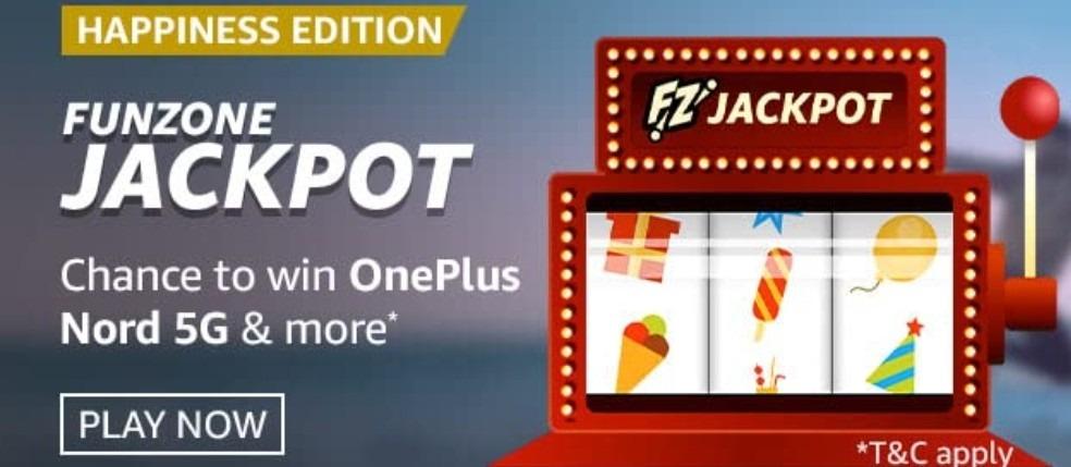 Amazon Funzone Jackpot Happiness Edition Quiz Answers