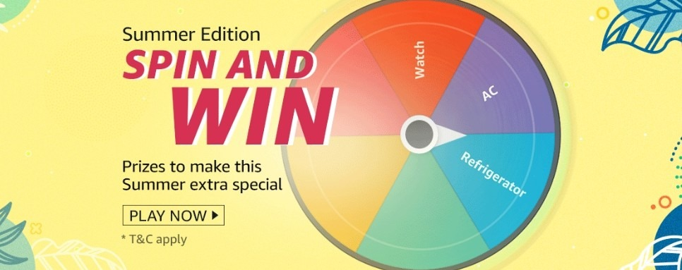 Amazon Spin and Win Summer Edition Quiz Answer