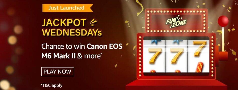 Amazon Funzone Jackpot Wednesdays Quiz Answers 7 April