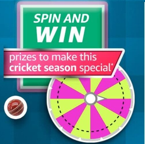 Amazon Spin and Win T20 Cricket Fever Quiz Answer