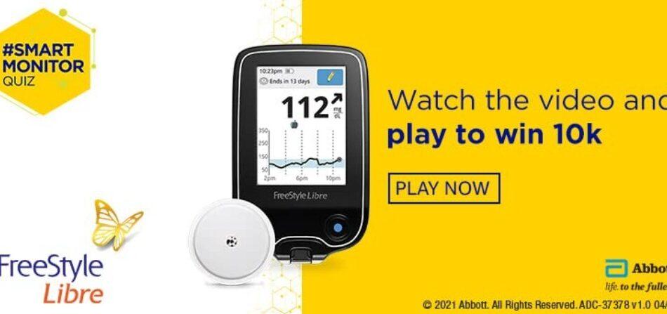 Amazon Abbott Freestyle Libre Quiz Answers Win Rs. 10,000 Pay Balance (10 Winners)