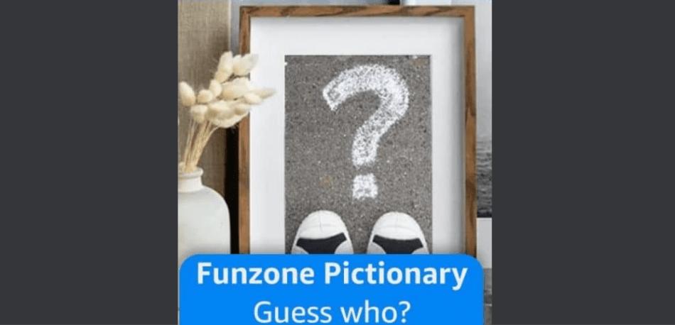 Amazon Funzone Pictionary Quiz Answers