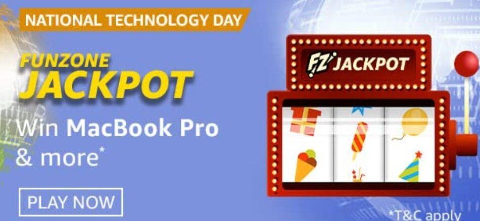 Amazon Funzone Jackpot National Technology Day Quiz Answers