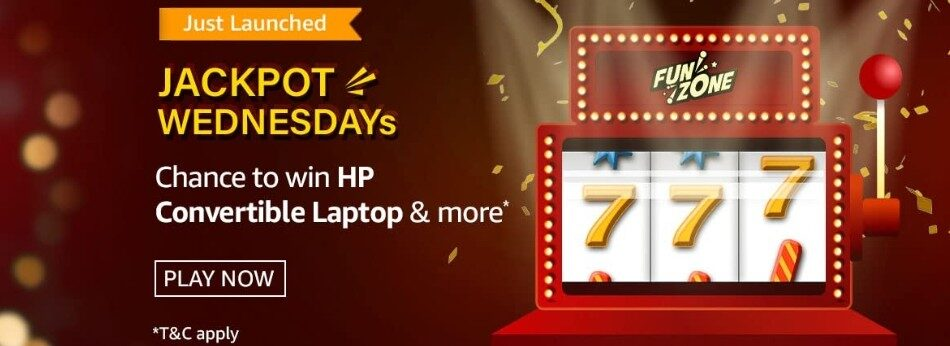 Amazon Funzone Jackpot Wednesdays Quiz Answers 12 May