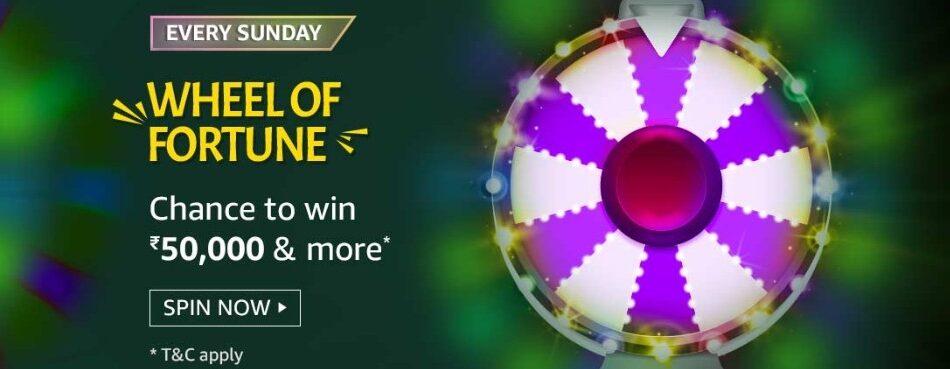 Amazon Wheel of Fortune 16 May 2021 Sunday Answers