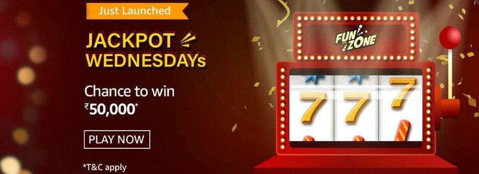 Amazon Funzone Jackpot Wednesdays Quiz Answers 19 May