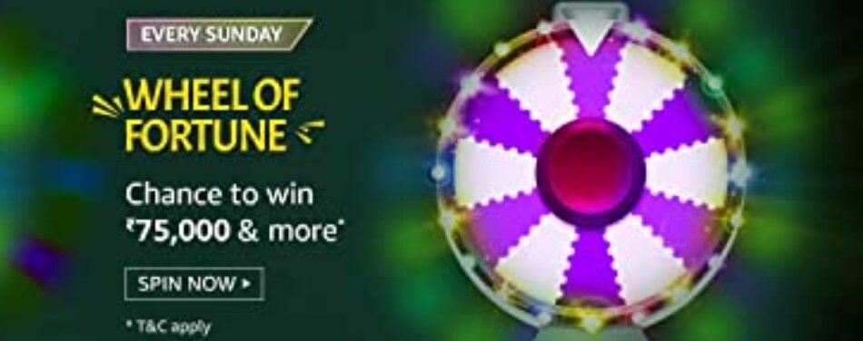 Amazon Wheel of Fortune 23 May 2021 Sunday Answers