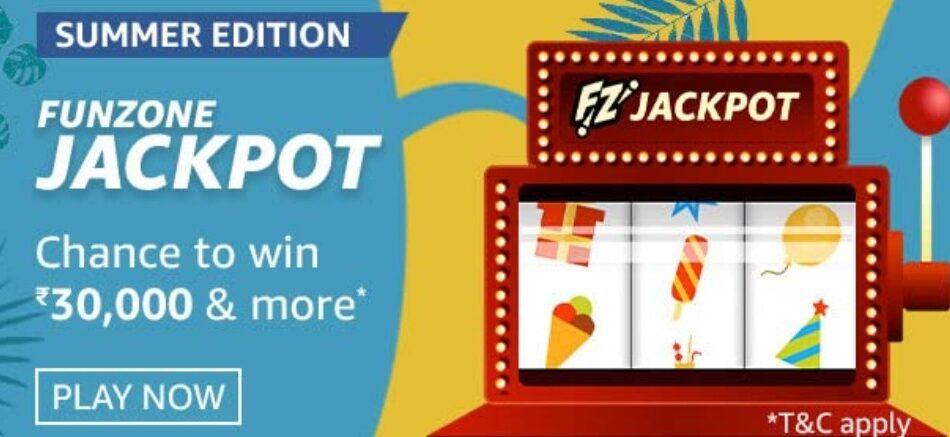 Amazon Funzone Jackpot Summer Edition Quiz Answers