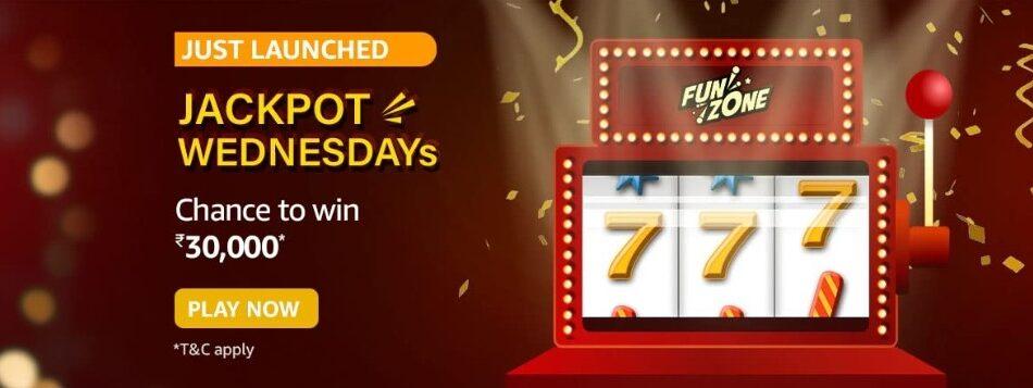 Amazon Funzone Jackpot Wednesdays Quiz Answers 26 May
