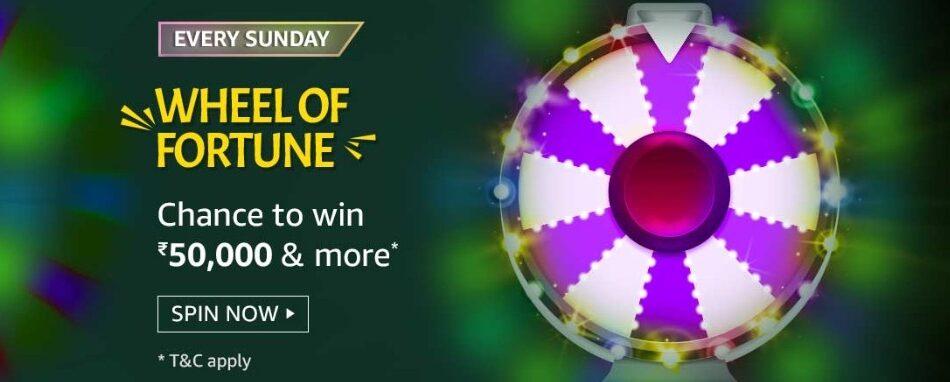 Amazon Wheel of Fortune 30 May 2021 Sunday Answers