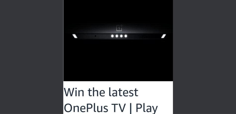 Amazon OnePlus TV U1S Quiz Answers Win OnePlus TV (3 Winners)