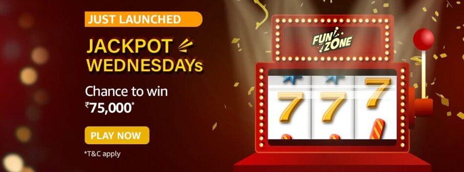 Amazon Funzone Jackpot Wednesdays Quiz Answers 2 June