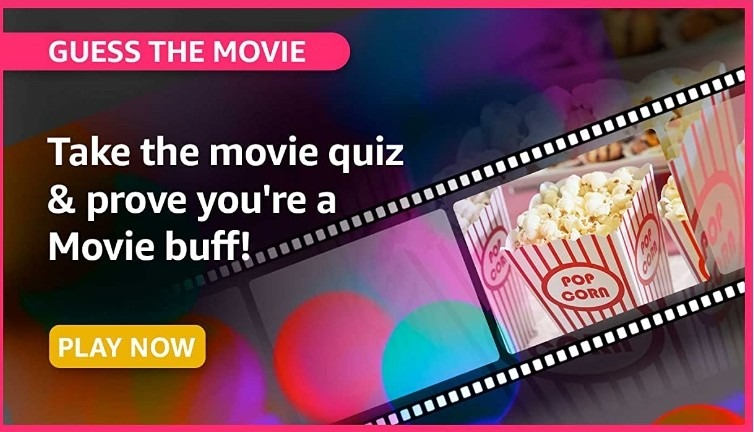 Amazon Guess the Movie Quiz Answers