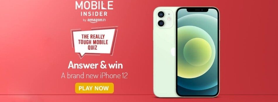 Amazon The Really Tough Mobile Quiz Answers Win iPhone 12
