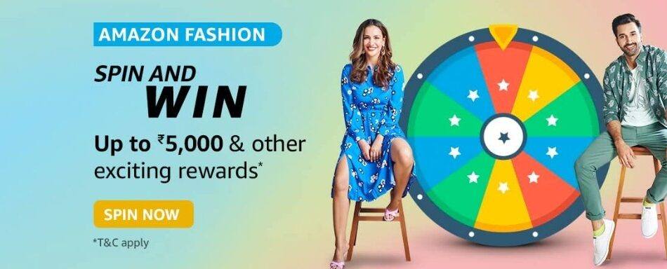 Amazon Spin and Win Amazon Fashion Quiz Answer