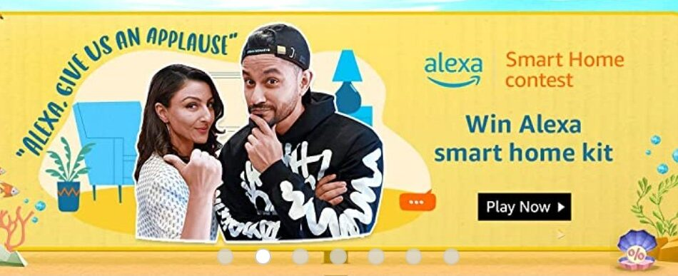 Amazon Alexa Smart Home Quiz Answers Win Smart Home Combo (8 Winners)