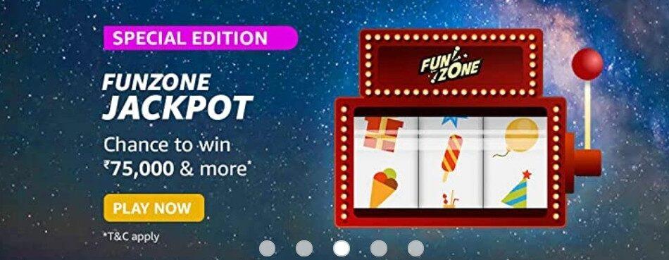 Amazon Funzone Jackpot Special Edition Quiz Answers
