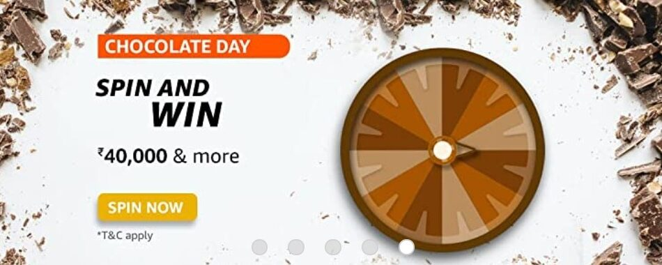 Amazon Spin and Win Chocolate Day Quiz Answer