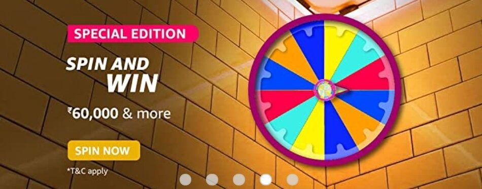 Amazon Spin and Win Special Edition Quiz Answer