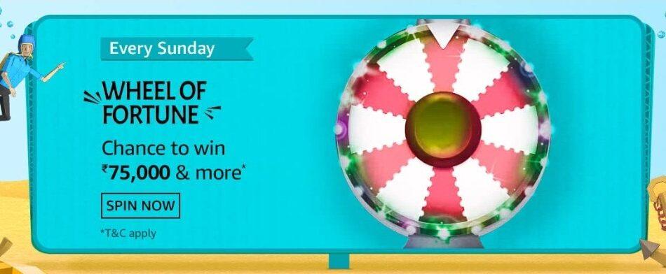Amazon Wheel of Fortune 11 July 2021 Sunday Answers