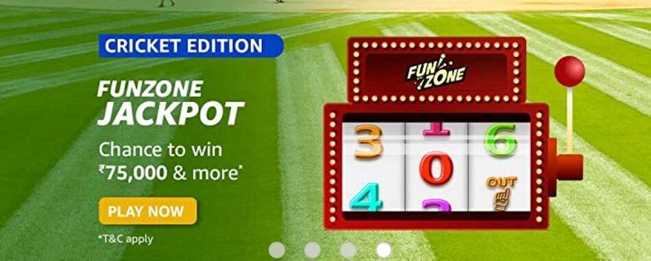 Amazon Funzone Jackpot Cricket Edition Quiz Answers