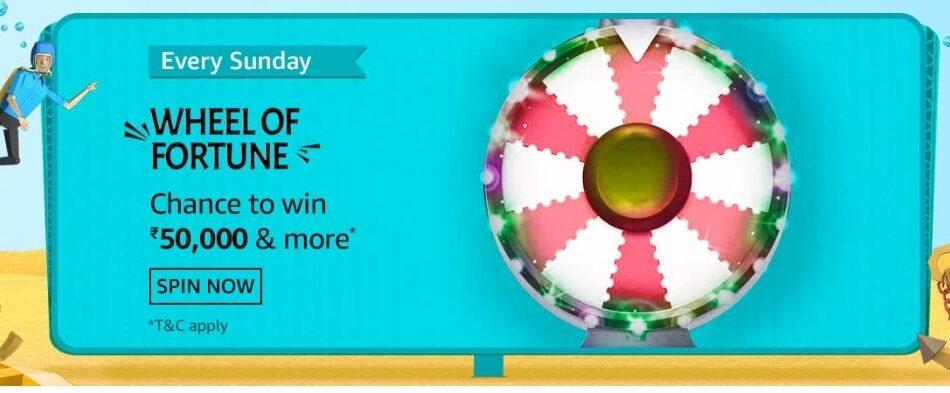 Amazon Wheel of Fortune 18 July 2021 Sunday Answers