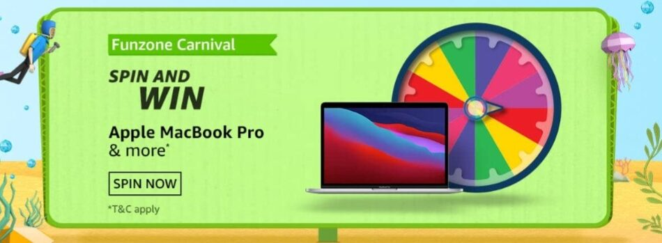 Amazon Spin and Win Funzone Carnival Quiz Answer July