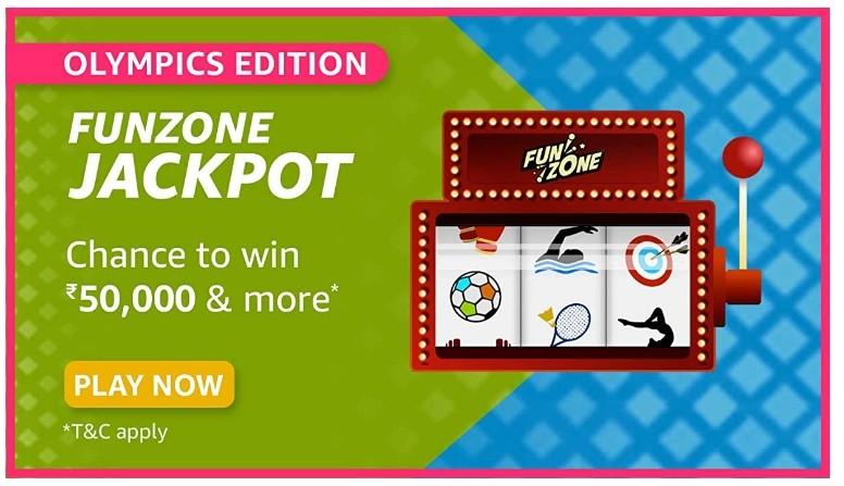 Amazon Funzone Jackpot Olympics Edition Quiz Answers