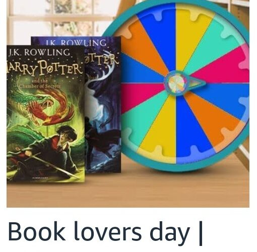 Amazon Spin and Win Book Lovers Day Edition Quiz Answer