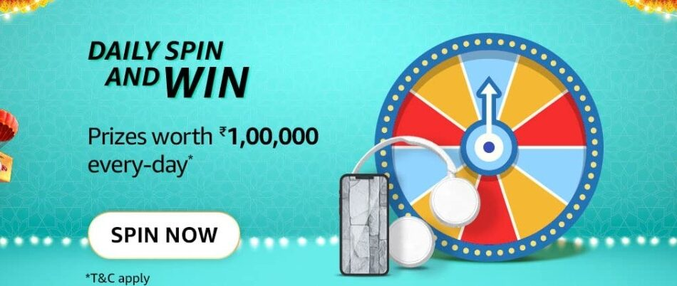 Amazon Daily Spin and Win Quiz Answer