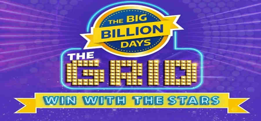 Flipkart The Grid Win with the Stars Quiz Answers Today